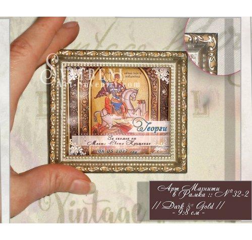 Магнит с Икона по Избор :: Мини Картина в Рамка №32-2››770