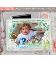 """Големи Прозрачни Магнити със Снимка и Тема """"Floral"""" №18-4"""