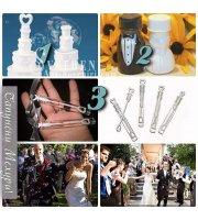 Сватбени Флакони за Балони - Сапунени Мехури - Изберете Вид