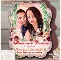 """Магнити със снимка """"FloralArt"""" и тема в Марсала №01-6"""