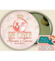 "Дизайн ""Game Over"" :: Сватбени Огледалца #07-7"