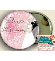 "Дизайн ""Mr&Mrs Smith"" :: Сватбени Огледалца #07-8"
