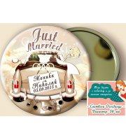 """Just Married"" Огледалца - Подарък за Гостите #07-8"