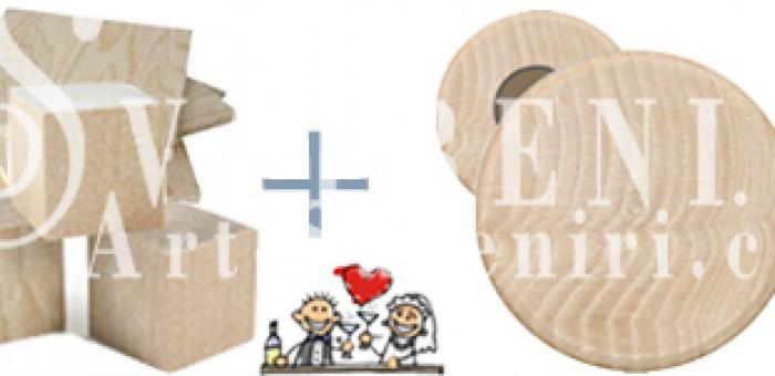 Кръгли дървени магнити 53 мм